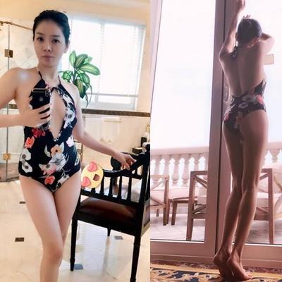 Lệ Quyên diện bikini, tự tin khoe hình thể săn chắc đáng ghen tị ở tuổi U40