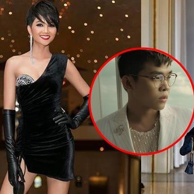 Hoa hậu H'Hen Niê vướng nghi vấn diện váy nhái, stylist lên tiếng bênh vực