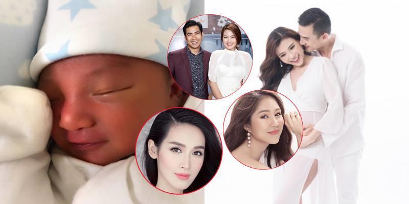 yan.vn - tin sao, ngôi sao - Phản ứng của sao Việt khi Lương Thế Thành - Thuý Diễm khoe con trai vừa sinh?