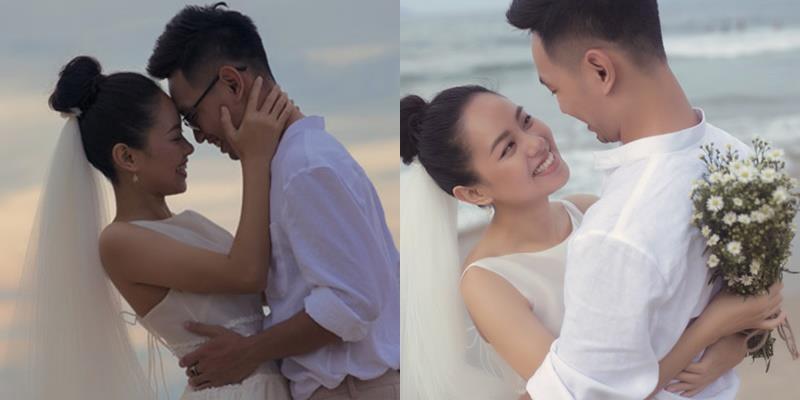 yan.vn - tin sao, ngôi sao - Lộ ảnh cưới lãng mạn của Á quân Vietnam Idol Hoàng Quyên với chồng kiến trúc sư điển trai