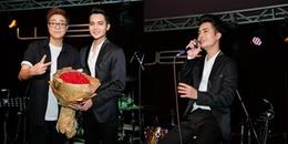 Bùi Anh Tuấn đến chúc mừng Á quân X-Factor Tuấn Phương ra mắt MV đầu tay