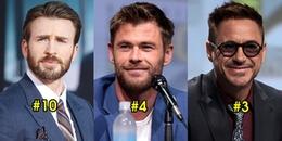 Top 10 diễn viên nam kiếm tiền nhiều nhất 2018: 3 trai đẹp Avengers gộp lại vẫn thua đau hạng 1