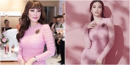 Cùng một bộ váy hiệu, Hồ Ngọc Hà và Hoa hậu Phương Lê, ai xuất sắc hơn ai?