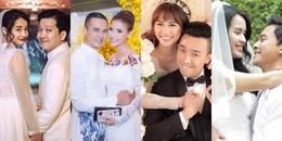 Không chỉ Trường Giang - Nhã Phương, những sao Việt này cũng yêu trong phim, ngoài đời cưới luôn