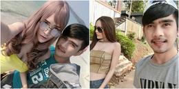 Chuyện tình đẹp của mẫu nam chuyển giới Thái Lan cùng anh chàng xe ôm khiến bao người ghen tị