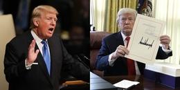 Lúc mới đắc cử toàn bị chê bai, giờ thì Donald Trump lại đạt những thành tựu ít tổng thống nào có