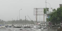 Bão số 4 có khả năng mạnh thêm, tâm bão giật cấp 10, Bắc Bộ chuẩn bị đón mưa rất to