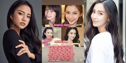 Bắt chước Hoa hậu Hương Giang, Thiên Nga The Face tiếp tục tự nhận giống Angela Baby