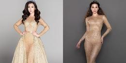 Diện lại váy cũ của Hồ Ngọc Hà, Hoa hậu Đỗ Mỹ Linh lại cao tay thế này