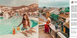 """""""Hot girl tóc mây"""" gốc Việt cực xinh đẹp, khoe ảnh chụp tại Hội An và Trà Vinh"""