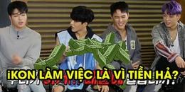 Clip hài: Bị các thành viên iKON trêu đùa kiếm nhiều tiền nhất nhóm, B.I ấp úng đáp trả thế này đây
