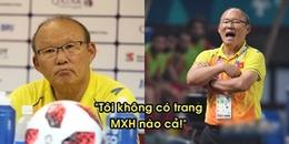 Bị giả mạo tài khoản Facebook, HLV Park Hang Seo bất bình: 'Tôi không có trang MXH nào cả!'
