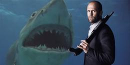 Đố ai chơi 'bạo' như Jason Statham: bơi với cá mập thật để lấy trải nghiệm đóng The Meg!