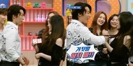 """Dong Hae (Super Junior) bị CĐM chỉ trích là """"côn đồ"""" vì có hành động khác lạ với Irene"""