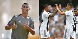 CR7 'quẫy' nhiệt tình, háo hức chờ đợi trận đấu ra quân trong màu áo Juventus