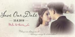 Lộ thiệp cưới, Harry Lu và Midu sắp kết hôn ngày 25/8?