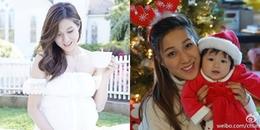 Hạ sinh bé trai, mỹ nhân TVB Chung Gia Hân hạnh phúc viên mãn khi đủ 'cả nếp lẫn tẻ'
