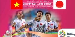 [Tường thuật trực tiếp] Olympic Việt Nam - Olympic Nhật Bản: 3 điểm và ngôi đầu bảng!
