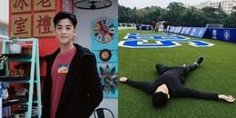 Tài tử TVB Dư Đức Thừa nhập viện cấp cứu khi đang chơi đá bóng
