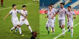 Chùm ảnh: Chỉ cần một cú sút đủ giúp Đoàn Văn Hậu trở thành ngôi sao sáng nhất trận đấu với U23 Oman