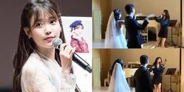 Tham gia đám cưới của vũ công, IU mở hẳn concert hát tặng cô dâu chú rể dễ thương thế này đây