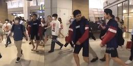 EXO-L xót xa trước khoảnh khắc Chanyeol bị fan theo dõi, xô đẩy suýt ngã ở sân bay Incheon