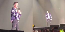 Seungri lầy lội bắt chước G-Dragon trong concert nhưng fan chỉ chú ý đến chiếc quần bó của anh chàng