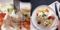 Bếp Tây #1: Đổi vị cuối tuần với món Mì Ý Sò Điệp Sốt Kem Bơ Tỏi thơm 'nứt bụng'