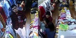 Rợn người khi xem clip nhân viên bán quần áo bị nam thanh niên đi cùng bạn gái đâm nhiều nhát