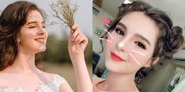 """Nữ sinh Việt lai Nga cao 1m70 """"đốn tim"""" dân mạng bởi ngoại hình xinh đẹp chẳng khác gì búp bê"""
