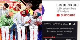 Đánh giá Youtube 1 sao, hàng loạt video trăm triệu view của BTS bất ngờ bị xóa sổ khỏi Youtube