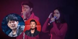 Đôi bạn trẻ Remix 'Học Tiếng Mèo Kêu' tại The Voice khiến Tạ Đình Phong, Châu Kiệt Luân sửng sốt