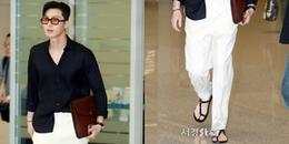 Điển trai đến đâu, Park Seo Joon vẫn khiến fan thất vọng với phong cách thời trang khó hiểu