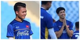Công Phượng, Quang Hải gây bất ngờ với số áo lạ lẫm ở Olympic Việt Nam
