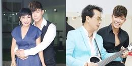 Nathan Lee ôm chặt Phương Thanh, song ca cùng Đức Huy trong hậu trường