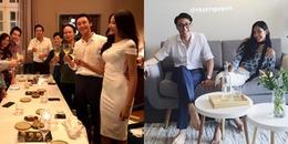 yan.vn - tin sao, ngôi sao - Chuyện gì thế này, Hoàng Thùy dự sinh nhật của Rocker Nguyễn cùng đại gia đình anh