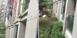 Video: Cha thả con gái 3 tuổi từ tầng 3 chung cư xuống và đây là lý do khiến mọi người đều cảm thông