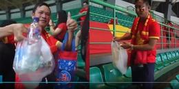 Bạn bè quốc tế 'nể phục' vì hành động mang đầy ý nghĩa của CĐV Việt Nam sau khi trận bóng kết thúc