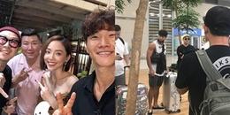 Fan 'phát hờn' khi Tóc Tiên khoe ảnh chụp cùng bộ đôi 'Running Man' Kim Jong Kook và Haha
