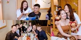 Cường Seven - Chi Pu - Gil Lê chạm mặt nhau trong sinh nhật của Khả Ngân