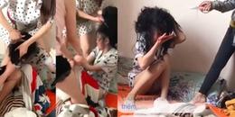 Vừa mới đẻ, vợ kéo cả 'hội chị em' đến cắt tóc, đánh ghen nhân tình của chồng gây xôn xao MXH