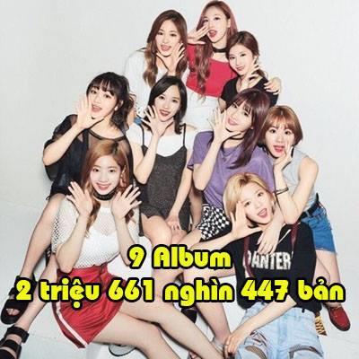 Antifan cứ ghét, TWICE vẫn phá mọi kỷ lục và lần này là kỷ lục bán album của SNSD