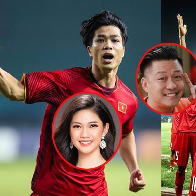 Sao Việt người ăn mừng, người đi bão khi U23 Việt Nam vào tứ kết ASIAD