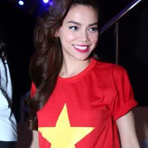 Hồ Ngọc Hà gửi lời chúc đến đội tuyển olympic Việt Nam trước trận Bán kết