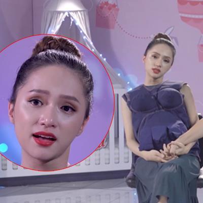 Hương Giang bật khóc trải lòng: