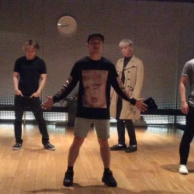 Fan sốt rần rần khi Big Bang lộ clip tập luyện vũ đạo chưa từng công bố vào dịp kỷ niệm 12 năm debut
