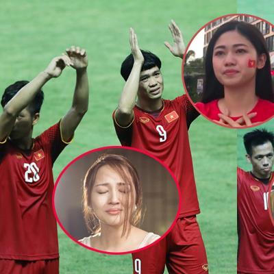 Sao Việt gửi lời động viên Olympic Việt Nam sau trận thua trước Hàn Quốc
