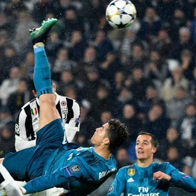 Siêu phẩm vào lưới Juventus của CR7 được UEFA vinh danh