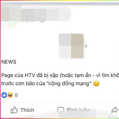 Thực hư chuyện fanpage HTV bị đánh sập sau khi dừng chiếu