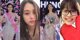 'Tròn mắt' trước nhan sắc 'đẹp không cần son phấn' của Hoa hậu, Á hậu Việt Nam 2018